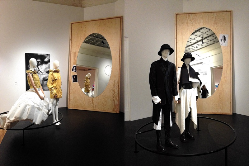 Belgian fashion design displayed in an art exhibition at BOZAR Brussels