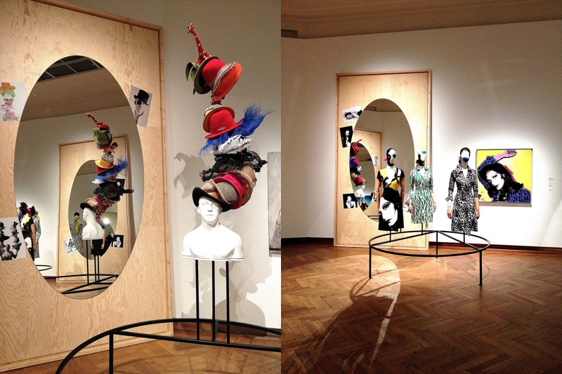 Impressions of an exhibition about fashion made in Belgium
